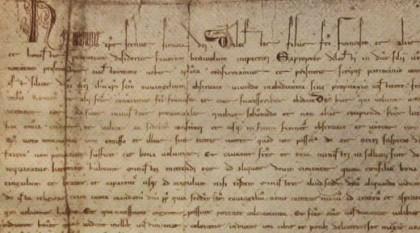 Die Bulle wird in der Reliqienkammer des Sacro Convento in Assisi ausbewahrt