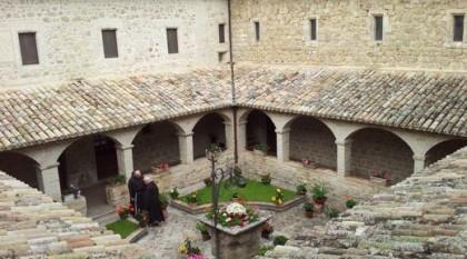 Innenhof von San Damiano.