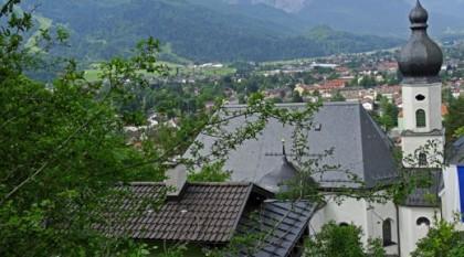 Wallfahrtskirche in Garmisch-Partenkirchen