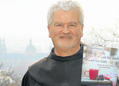 Bruder Christoph in Fulda. Sein Adventskalender geht auch 2016 wieder online. Bild von Leonie Rehnert, Fuldaer Zeitung