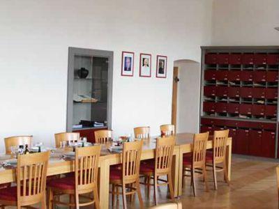 Der Speiseraum der Brüder wurde im Rahmen der umfangreichen Sanierungsmaßnahmen neu gestaltet.