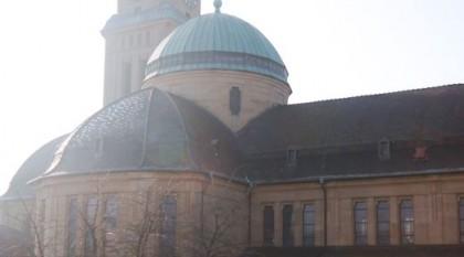 Die Pfarr- und Klosterkirche St. Bonifatius in Mannheim