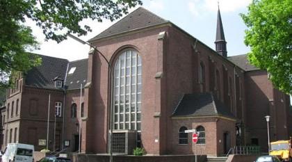 Franziskanerkonvent und Klosterkirche St. Barbara in Mönchengladbach.