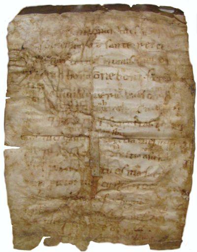 Reliquie: Der Lobpreis Gottes von Franziskus wird im Original in der Basilika San Francesco in Assisi aufbewahrt