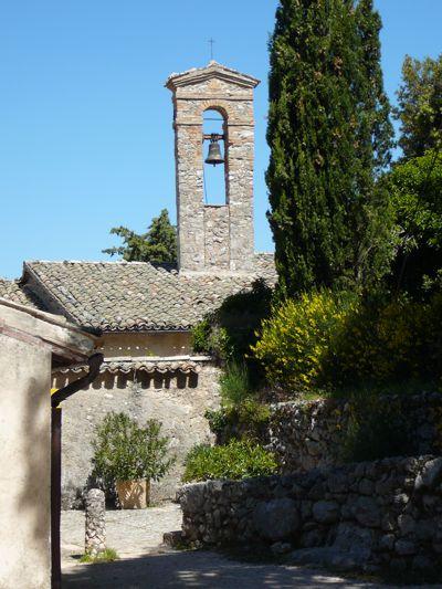 Einsiedelei von Monteluco: Ansicht des Klosters. Foto von Kerstin Meinhardt.