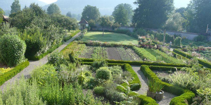 Der Garten des Meditationsklosters