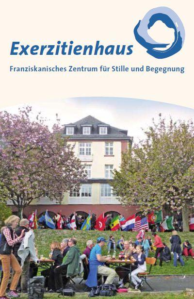 Veranstaltungsbroschure des Exerzitienhauses in Hofheim.