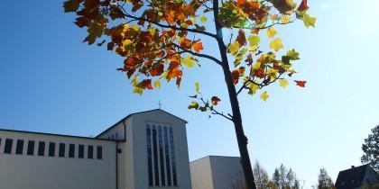 Ansicht der Kirche und des Klosters in Großkrotzenburg