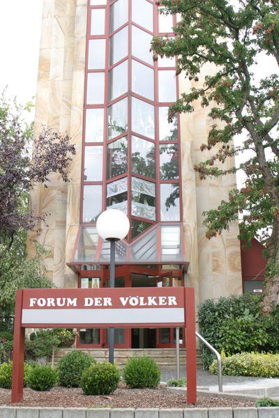 Das Hinweisschild des Museums. Es liegt in unmittelbarer Nähe des Franziskanerklosters in Werl