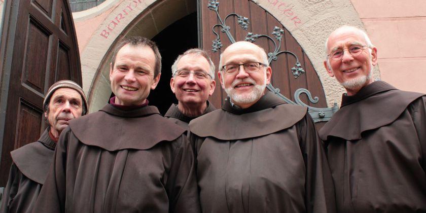 Bernhard Schäfer, Johannes Küpper, Jordan Tentrup, Rolf Fleiter und Rudolf Dingenotto.