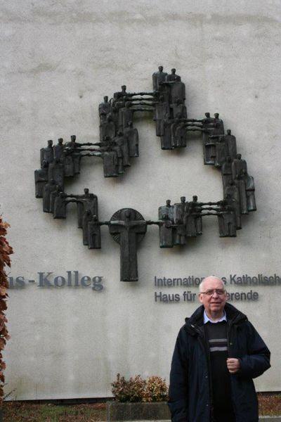 Bruder Ronald, der Leiter des Franziskus-Kollegs in Hamburg.