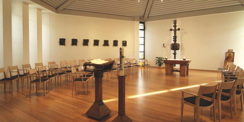 Meditationskapelle des Gästehauses.