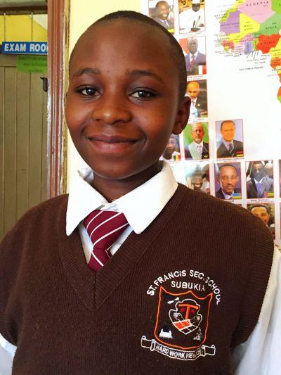Schüler der St. Francis School in Subukia (Kenia/Afrika), Foto: Miroslav Babic ofm
