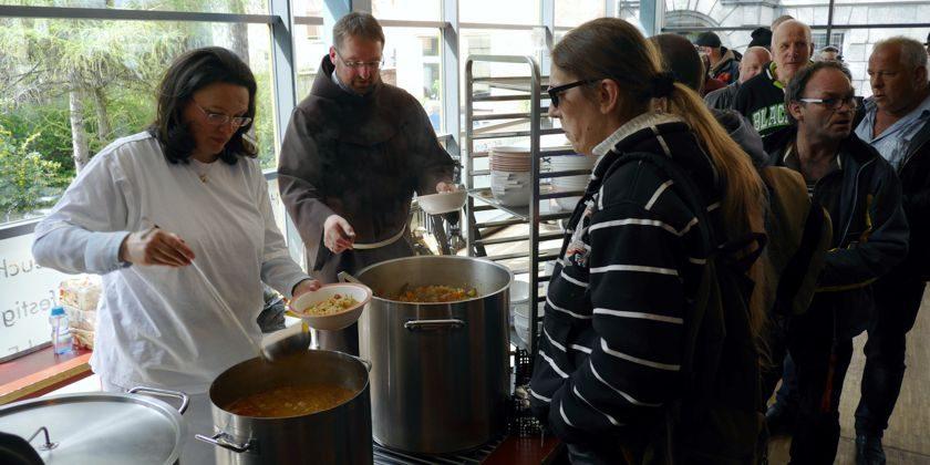 Suppenküche der Franziskaner in Berlin-Pankow – Franziskaner