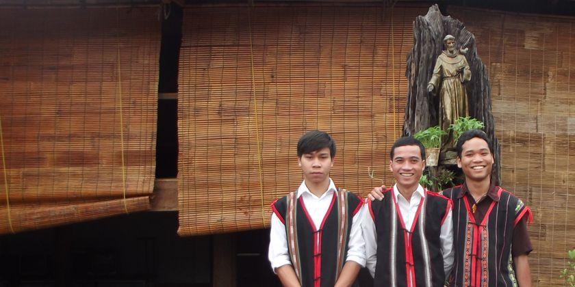 Junge Vietnamesen im Internat der Franziskaner in Latring in der Provinz Kontum, Foto: Trung Phat Nguyen ofm