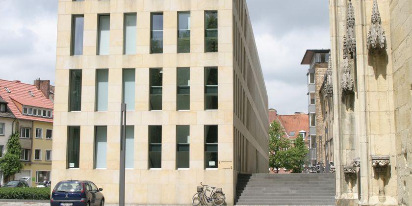 In der Diozesanbibliothek in Münster ist die Fachstelle für Franziskanische Forschung untergebracht.