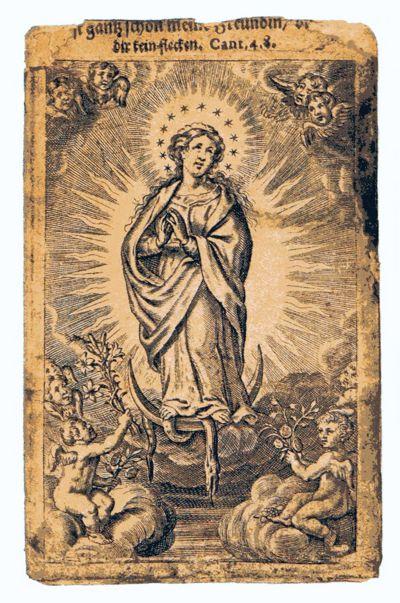 Das Gnadenbild in Neviges ist das Ziel tausender von Pilgerinnen und Pilgern. Die Wallfahrt geht auf das Jahr 1681 zurück.