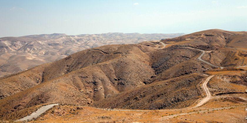 Die Wüste Sinai. Ein besonderer Ort der Gottesbegegnung, sowohl im Alten, als auch im neuen Testament. Bildquelle: Custodie des Heiligen Landes.