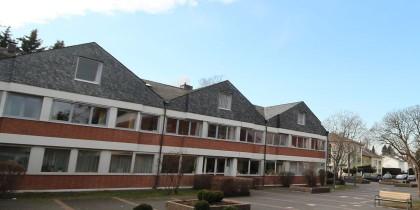 Die Verwaltungsgebäude der Missionszentrale der Franziskaner.