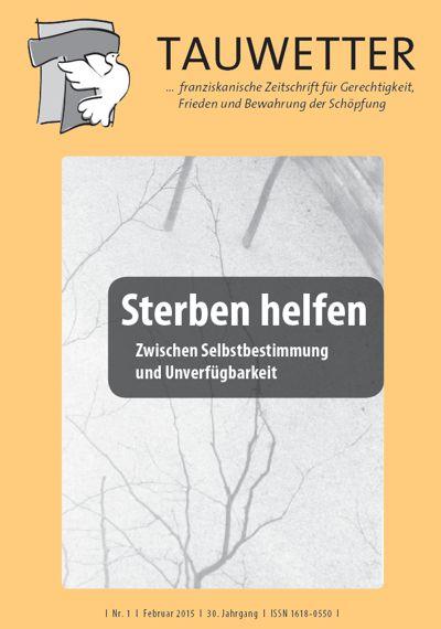 Umschlag: Titel der Ausgabe Tauwetter Nr. 1/Februar 2015