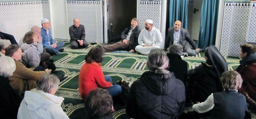 Besuch der Tarik Moschee in Frankfurt