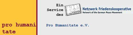 Internationaler Verein für Frieden und Gerechtigkeit - Pro Humanitate e.V. Köln