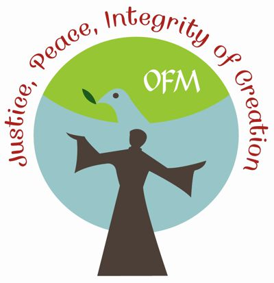 Logo Justice, Peace, Integrity of Creation (JPIC) des weltweiten Franziskanerordens, Büro Rom