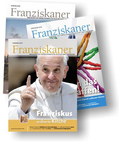 """Publikationen: die Zeitschrift """"Franziskaner"""""""