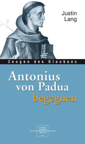 Justin Lang: Antonius von Padua