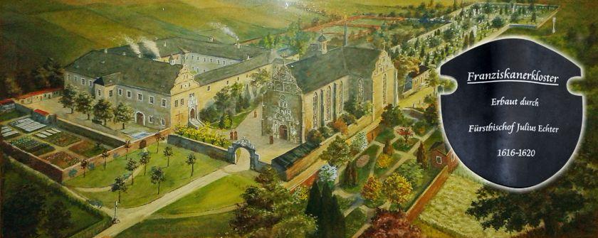 Gemälde im Kloster Dettelbach