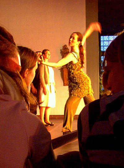 Gotteslob ausgedrückt im Tanz.
