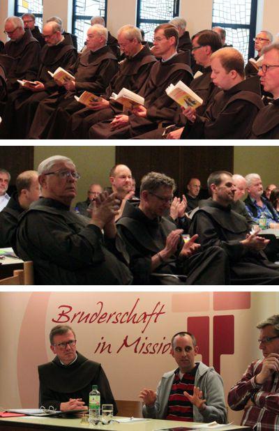 Eindrücke vom Provinzkapitel der Franziskaner in Hofeheim