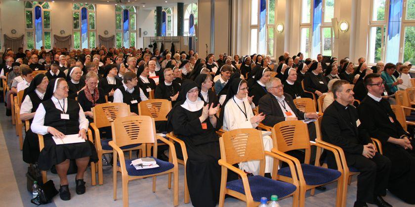 Mitgliederversammlung der Deutschen Ordensoberenkonferenz vom 12. bis 15. Juni 2016 in Vallendar. Bild von der DOK Pressestelle