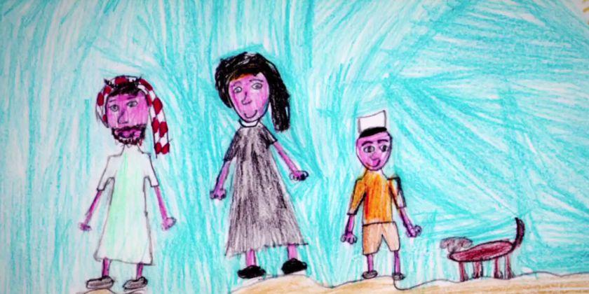 Gebetsanliegen im Monat März für bedürftige Familien, um Unterstützung, damit Kinder in gesunder und friedlicher Umgebung aufwachsen. Klick auf Bild führt zur Videobotschaft von Papst Franziskus auf Youtube.