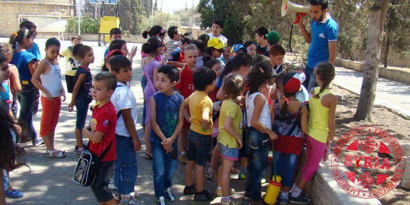 Trotz Krieg geht das Leben irgendwie weiter: Franziskaner organisierten eine Kinderfreizeit in Aleppo