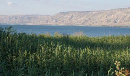 Blick auf die Landschaft Galiläas mit dem See Genesareth. Bild von isa_mau/pixabay.com (Public Domain)