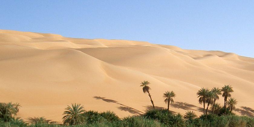Eine Wüstenerfahrung: Gönnen Sie sich einen Tag mit sich selbst bei den Franziskanern in Hofheim (bei Frankfurt). Bilde von WikiImages / pixabay.com