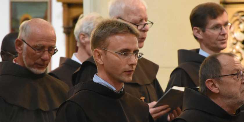 Franziskaner Bruder Nico Profess Dortmund