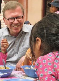 Kindertagesstätte in Cochabamba, Bolivien