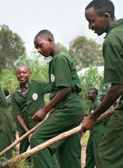 Pater-Vjeko-Berufsschule in Ruanda