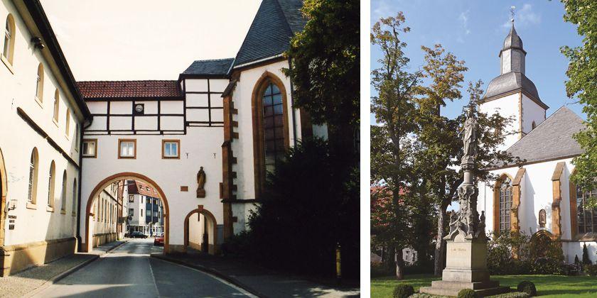 Kloster Beitreten