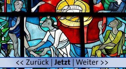 Fußwaschung, Bild von Friedbert Simon, Erich Schickling (künstlerischer Entwurf), Pfarrbriefservice.de